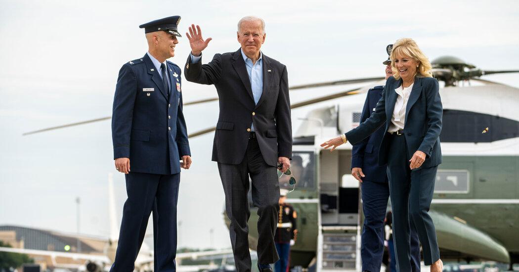 U.S. and Europe Look for Tariff Cease-Fire as Biden Heads Overseas