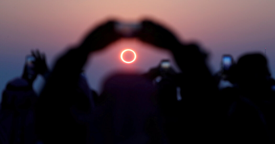Where to Watch the Ring of Fire Solar Eclipse at Sunrise