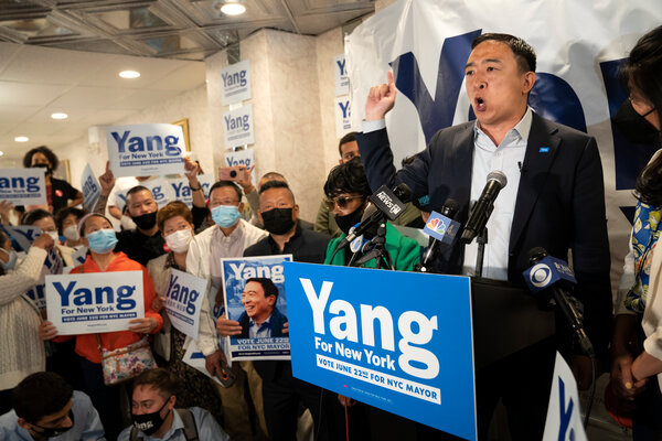 Andrew Yang has cast himself as an optimistic cheerleader for New York's recovery, though his tone has shifted somewhat in recent weeks.