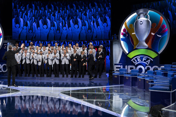Italy's Euro 2020 roster was unveiled — sort of — on a late-night television show.