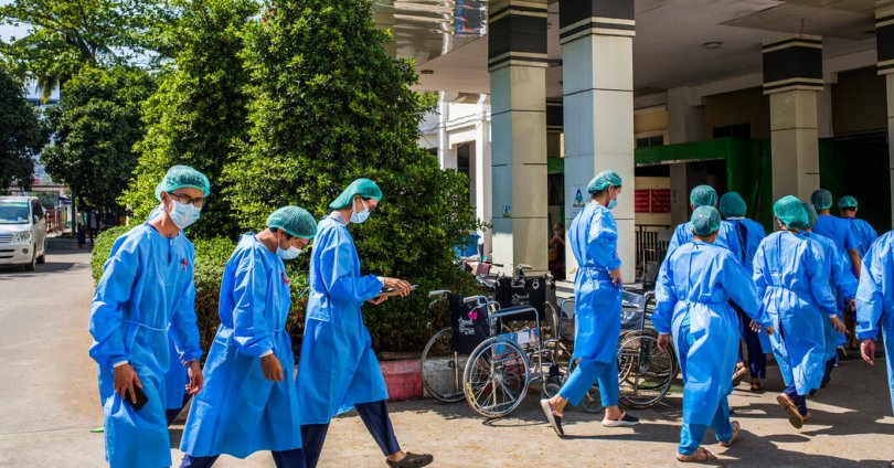In Myanmar, Health Care's Collapse Takes Its Own Toll