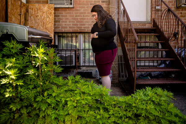 Miriam Leah Zisman, who is expecting her first child, was discouraged from getting vaccinated by the conversations in her Orthodox Jewish community.