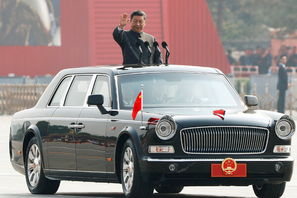 President Xi Jinping of China at a military parade in Beijing in 2019.