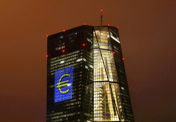 The headquarters of the European Central Bank, in Frankfurt. All central banks should begin offering digital equivalents to cash, the Bank for International Settlements said.