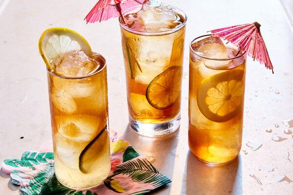 Eric Kim's Long Island iced tea.