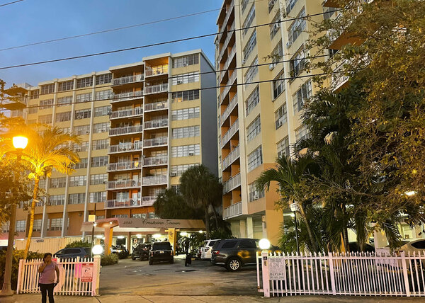 North Miami Beach officials had tried for years to bring a 10-story condo building, Crestview Towers, into compliance. It was evacuated on Friday.