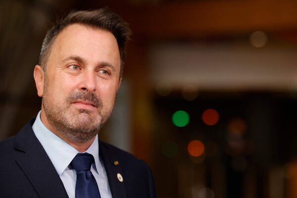 """Prime Minister Xavier Bettel of Luxembourg is in """"serious but stable"""" condition, less than 10 days after a star turn at the European Union summit meeting in Brussels."""