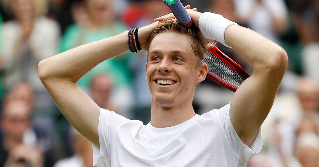 Why Denis Shapovalov Is Having a Wimbledon to Remember