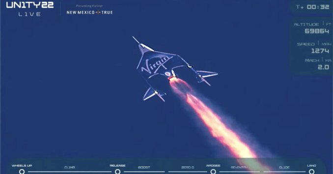 Branson Beats Jeff Bezos to Space, Aiming to Open Space Tourism