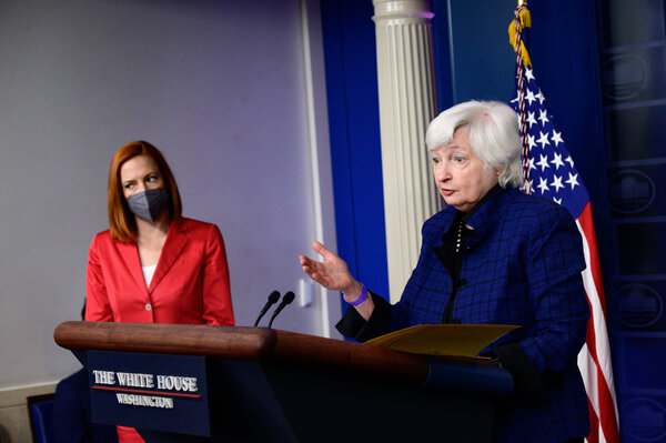 Janet Yellen at the White House in Washington in May.