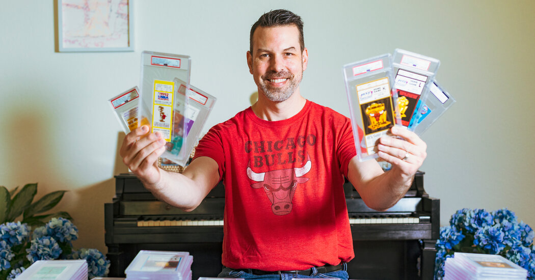 What Does It Take to Be Like Mike? 1,264 Ticket Stubs.