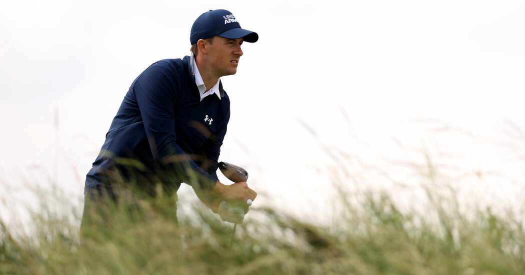 Jordan Spieth Makes the Most of a Mercurial British Open Course