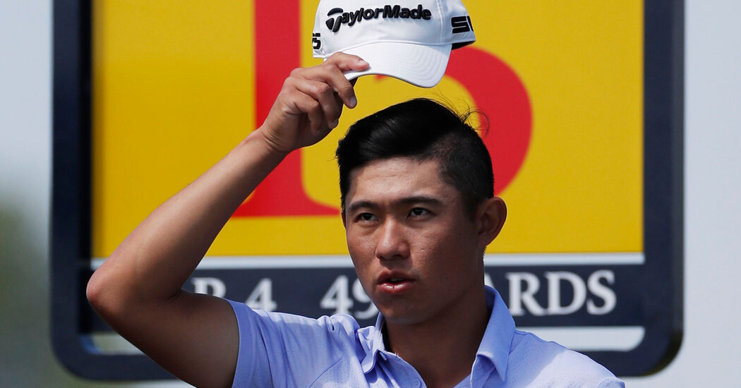 At British Open, Collin Morikawa Soars While Louis Oosthuizen Grabs a Record