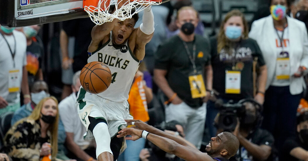 How a Steal and Alley-Oop Now Leave the Bucks One Win from Title