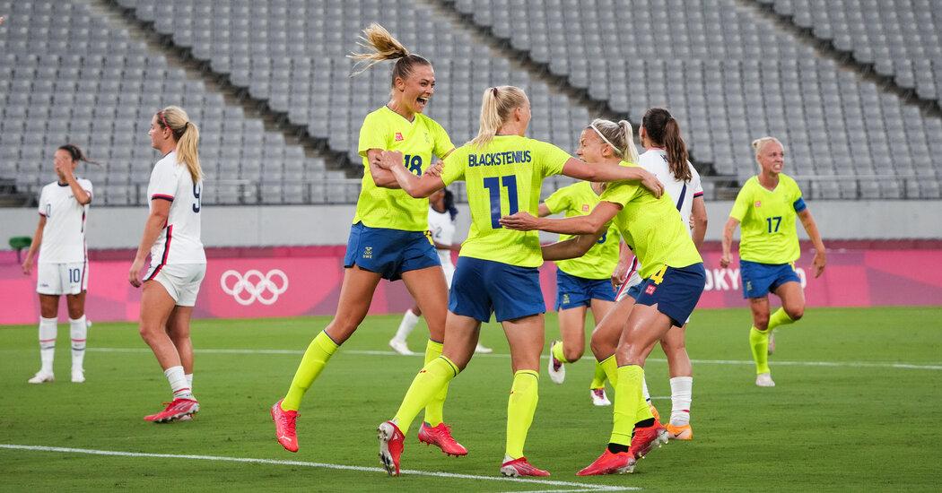 Sweden Stuns U.S. Soccer Team in Olympic Opener