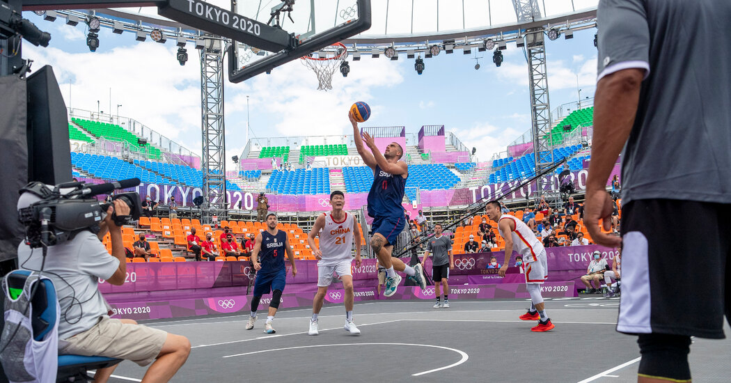 3×3 Basketball Comes to the Games With a G.O.A.T.: Dusan Bulut