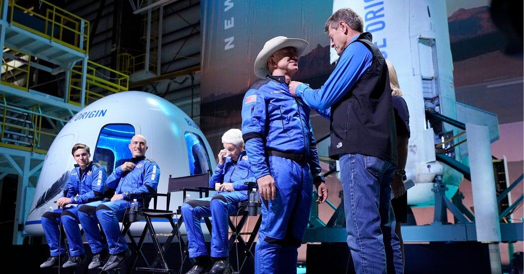 Is Jeff Bezos Really an Astronaut?