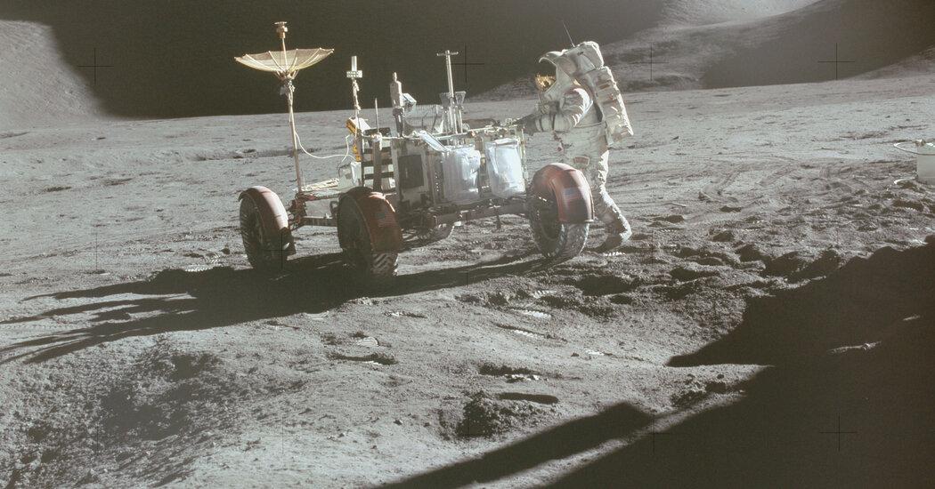 50 Years Ago, NASA Put a Car on the Moon
