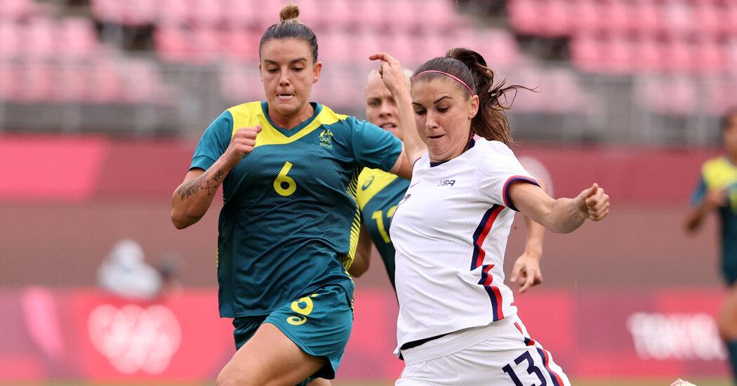 USWNT Gets 0-0 Draw Against Australia
