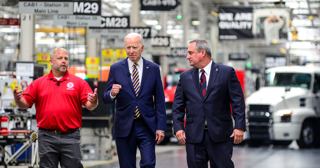 Inflation Is New Battle Line as Republicans and Biden Spar Over Spending