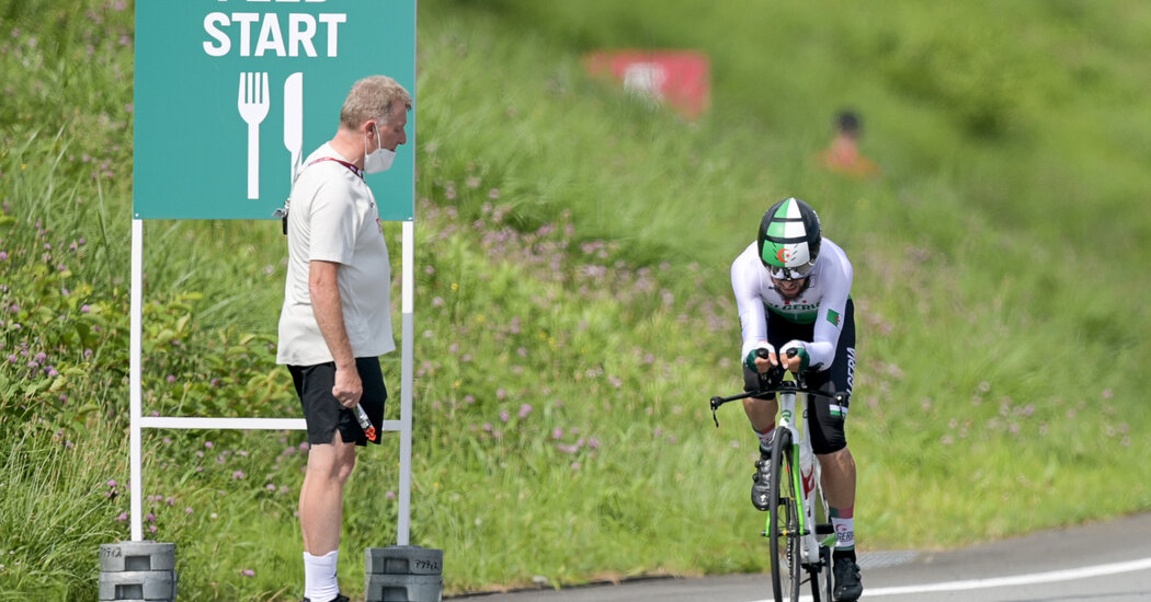 German Cycling Official Is Sent Home After Racial Slur on Olympics Telecast