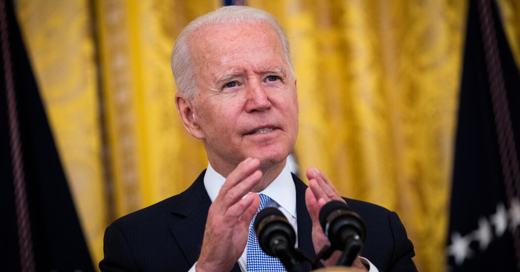 Biden Seeks to Revive Vaccine Effort With New Rules and Incentives