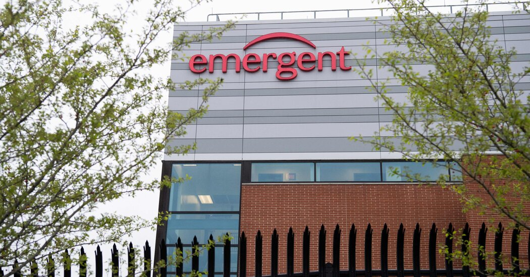 F.D.A. Gives Approval for Emergent Vaccine Plant in Baltimore to Reopen