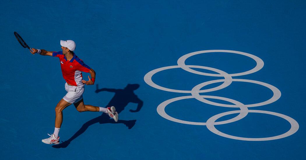 Live Tennis Bronze Medal Match: Novak Djokovic vs. Pablo Carreño Busta