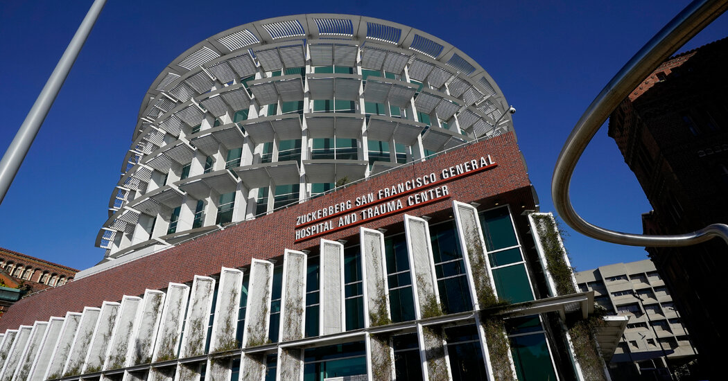 233 Staff at 2 San Francisco Hospitals Test Positive in July