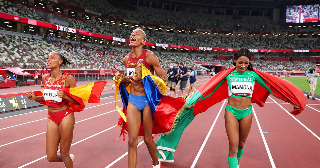 Venezuela's Yulimar Rojas Shatters Triple Jump World Record, First Female Gold Medalist from Country
