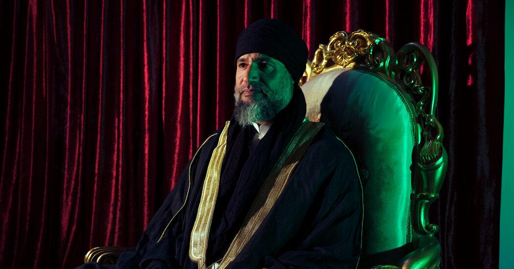 Qaddafi's Son Is Alive. And He Wants to Take Libya Back.
