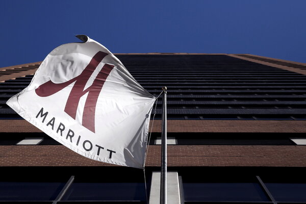 Marriott International reported profit of 2 million in the second quarter, compared with a 4 million loss in the same period last year.