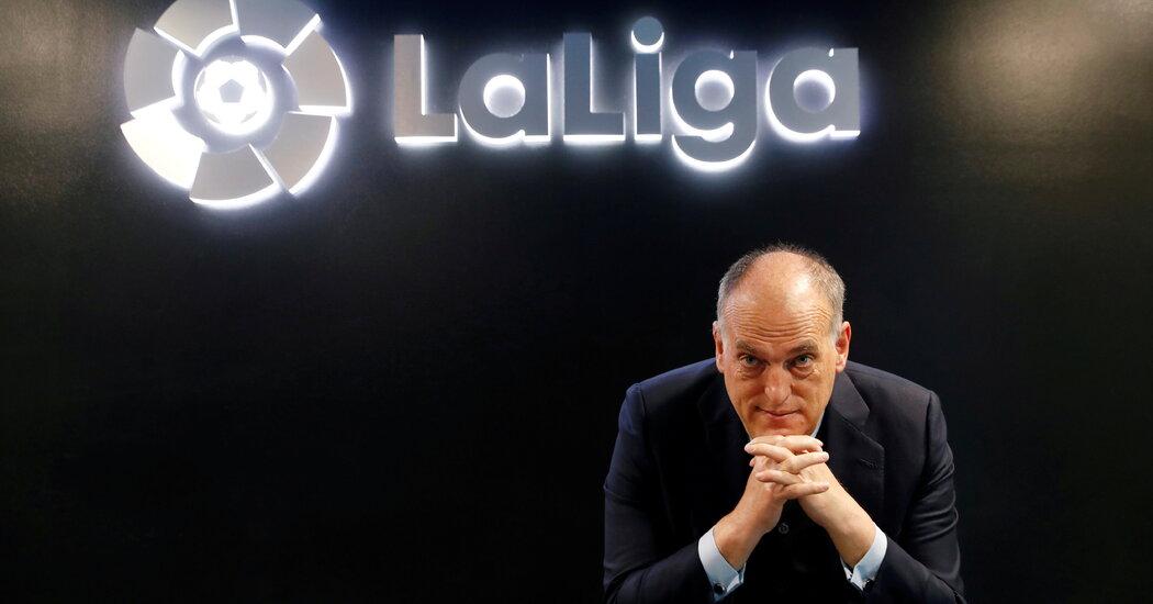 La Liga Agrees to Sell  Billion Stake to CVC Capital Partners