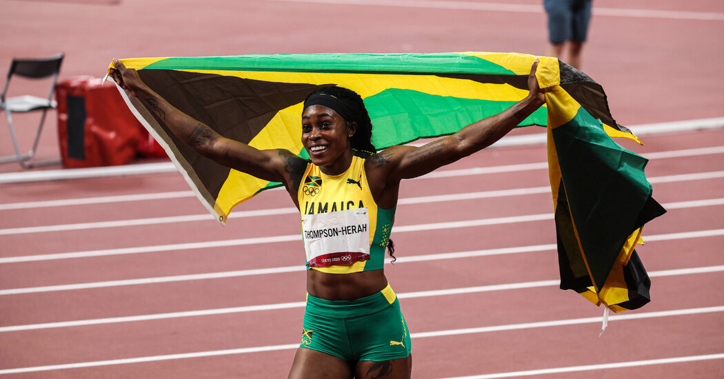 Elaine Thompson-Herah Won the 200 Meters, Her Second Gold in Tokyo