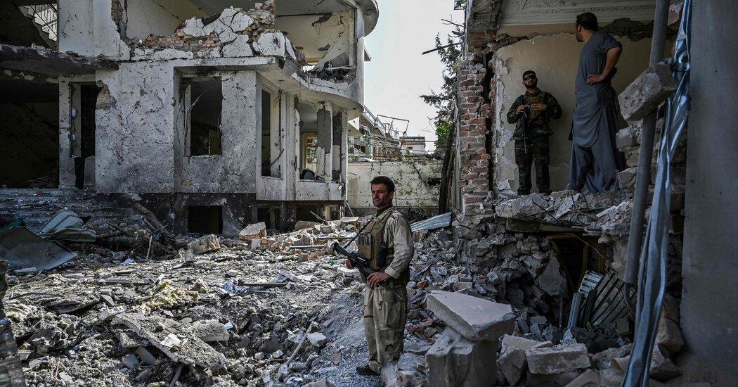 Afghan War Casualty Report: August 2021