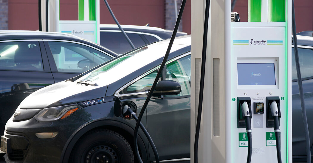 Biden Expected to Announce Goal of 50% Electric Vehicle