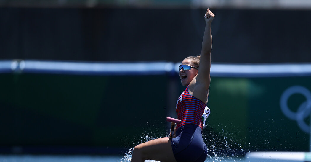 Canoe Sprint Results: Nevin Harrison Wins Gold for the U.S.