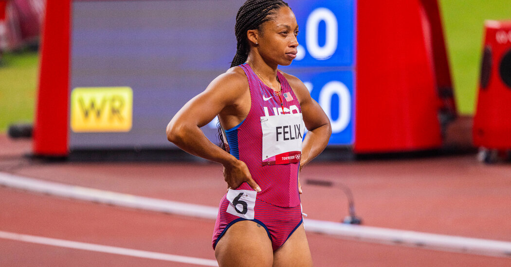 Allyson Felix Pursues a Track Record for Most Olympic Medals