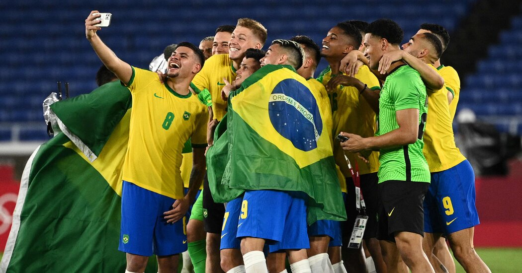 Brazil Defeats Spain to Win Soccer Gold
