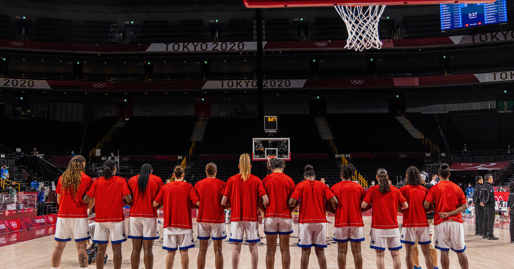 The U.S. women's basketball team faces Japan for the gold.
