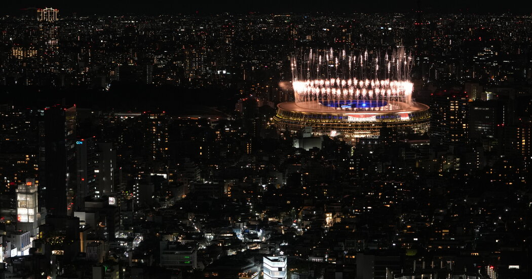 Olympics End as They Began: Strangely