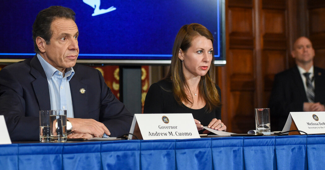 Cuomo's Top Aide, Melissa DeRosa, Resigns as He Fights to Survive