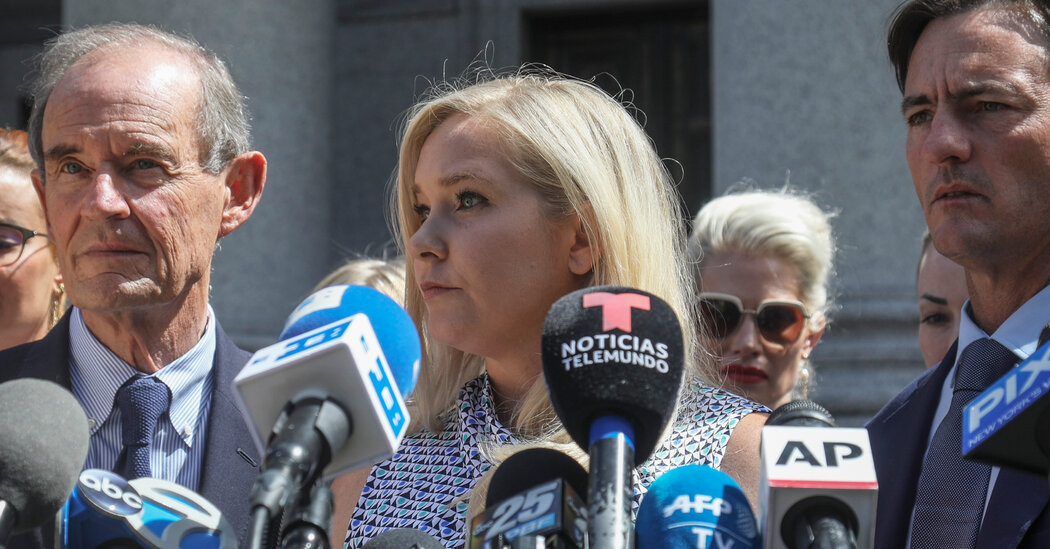 Virginia Giuffre Files Lawsuit Accusing Prince Andrew of Rape