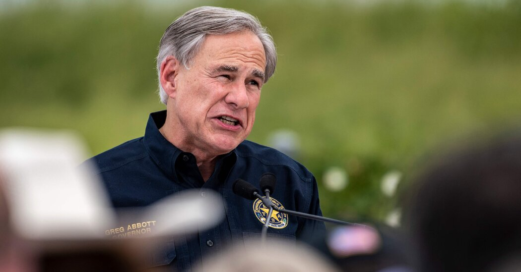 Abbott is criticized for his ban on mask mandates as cases soar in Texas.