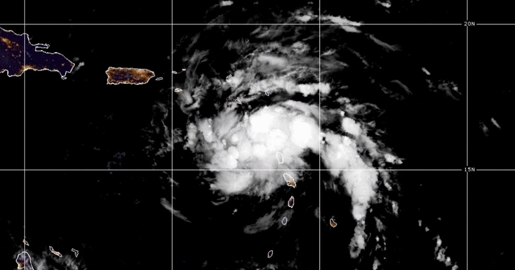 Tropical Storm Fred Develops Near Puerto Rico