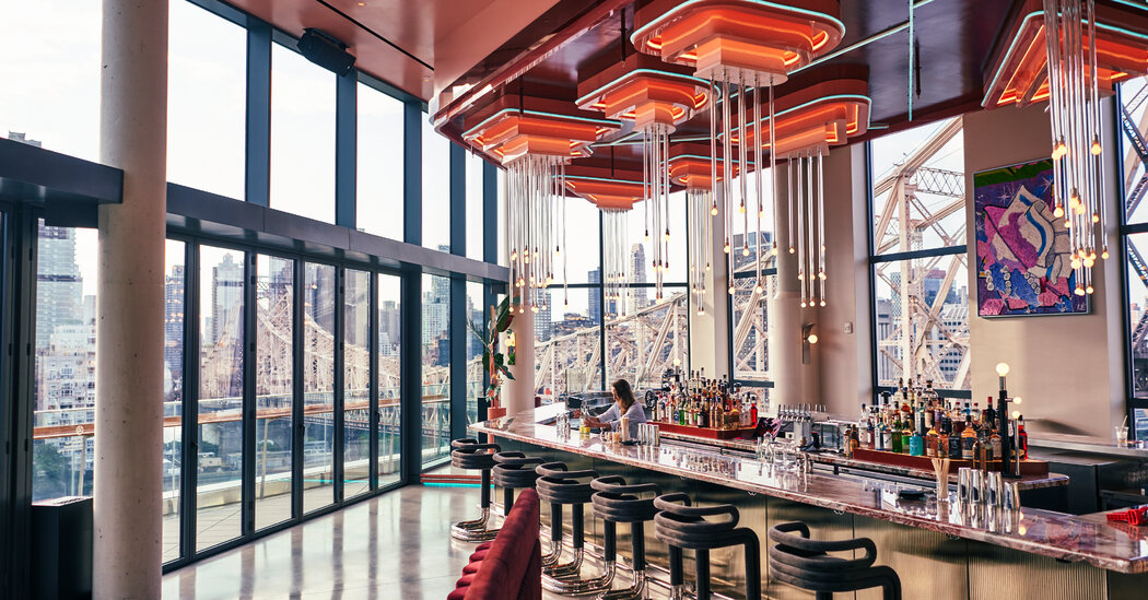 Views of 3 Boroughs, Complete With Cocktails