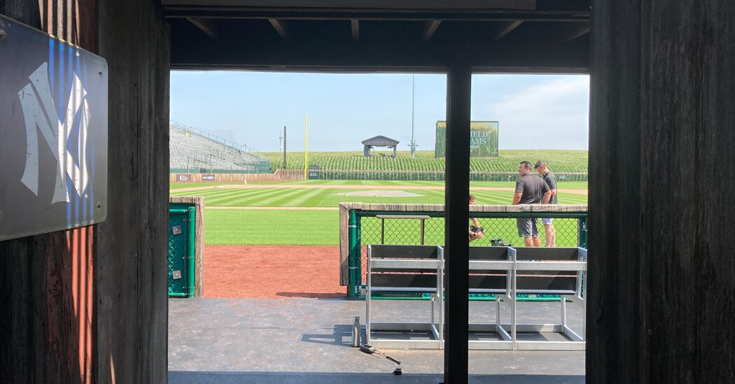 Yankees and White Sox Will Take Over 'Field of Dreams'