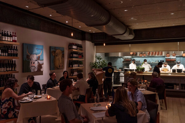 The food deserves a more atmospheric dining room.