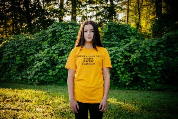 'Sexist,' 'Racist,' 'Classist': Georgia 8th Grader Challenges School Dress Code