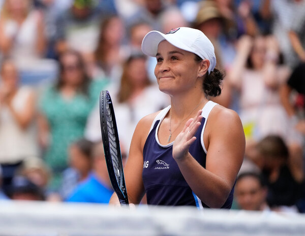 Ashleigh Barty, the top-ranked women's singles player, is seeking her sixth title this year.
